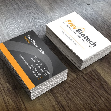 Prev Biotech business card